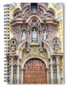 San Francisco Convent Facade Spiral Notebook