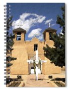 San Francisco De Asis Spiral Notebook