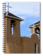 San Francisco De Asis Mission Bell Towers Spiral Notebook