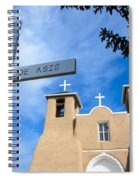 San Francisco De Asis - Rancho De Taos Spiral Notebook