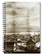San Francisco, From Clay Street, 1855 Spiral Notebook