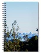 San Francisco From Mt. Tamalpais Spiral Notebook