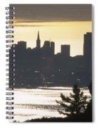 San Francisco - From Tamalpais East Spiral Notebook