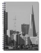 San Francisco From Treasure Island Spiral Notebook