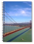 San Francisco Golden Gate Bridge Spiral Notebook