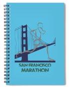 San Francisco Marathon2 Spiral Notebook
