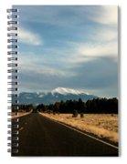 San Francisco Peaks Spiral Notebook