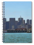 San Francisco Skyline -1 Spiral Notebook