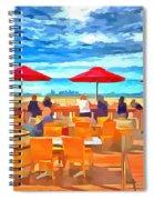 San Francisco Skyline From Alameda  Spiral Notebook