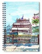 San Francisco Spirit Boat Spiral Notebook