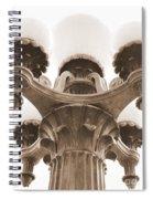 San Francisco Street Lamp Spiral Notebook