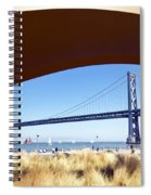 San Francisco Sunday Strollers  Spiral Notebook