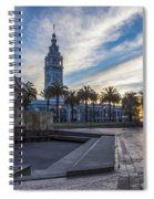 San Francisco Sunrise Spiral Notebook