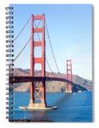 San Francisco's Golden Gate Bridge Spiral Notebook
