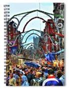 San Gennaro Festival Spiral Notebook