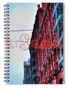 San Gennaro Festival Sign Spiral Notebook