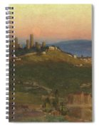 San Gimignano, 1898 Spiral Notebook