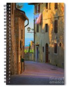 San Gimignano Alley Spiral Notebook