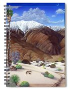 Snow Creek  Spiral Notebook