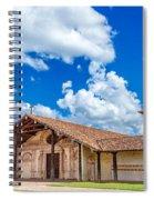 San Javier, Bolivia Church Spiral Notebook