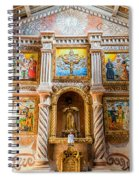 San Javier Church Altar Spiral Notebook