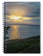 San Juan Island Sunset Spiral Notebook
