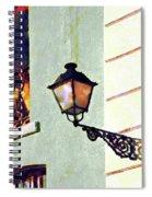 San Juan Street Lamp Spiral Notebook