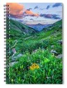 San Juan Sunset Spiral Notebook