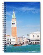 San Marco Square Waterfront Spiral Notebook