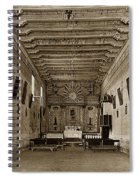 San Miguel Mission California Circa 1915 Spiral Notebook