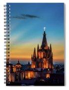 San Miguel Sunset Spiral Notebook