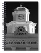 San Saba Couthouse Spiral Notebook