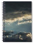 San Salvador Sunset 2 Spiral Notebook