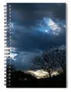 San Salvador Sunset 4 Spiral Notebook
