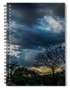 San Salvador Sunset 5 Spiral Notebook