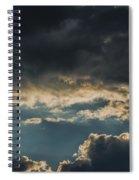 San Salvador Sunset 6 Spiral Notebook