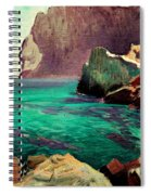 San Vicente Cove Mallorca Spiral Notebook