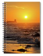 Sancti Petri Castle At Sunset San Fernando Cadiz Spain  Spiral Notebook