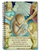 Sanctity Of Life Spiral Notebook