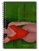 Alternative Curves Spiral Notebook
