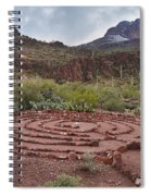 Sanctuary Cove Labyrinth Spiral Notebook