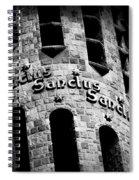 Sanctus Sanctus Sanctus Spiral Notebook
