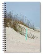 Sand And Grass Spiral Notebook