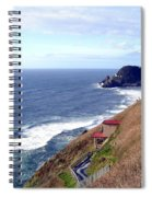 Sand And Sea 5 Spiral Notebook