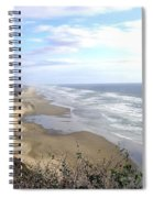 Sand And Sea 7 Spiral Notebook