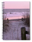 Sand And Sea Spiral Notebook