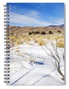 Sand And Snow Spiral Notebook