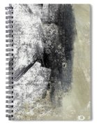 Sand And Steel- Abstract Art Spiral Notebook