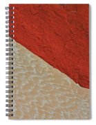 Sand And Stone Spiral Notebook
