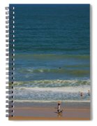 Sand And Surf Spiral Notebook